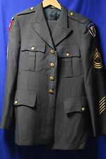 US Army Airborne Master sergeant Green Dress Service Uniform Jacket & Pants