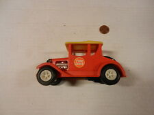 Marx Toys plastic friction powered Fire Chief old timer car, from 1970's!