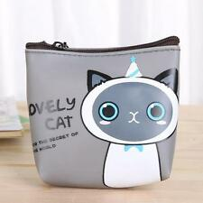 Fashion Women Girls Cat Coin Purse Wallet Bag Change Pouch Key Holder