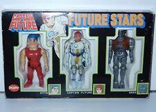 CAPTAIN FUTURE CAPITAINE FLAM FUTURE STARS OTTO FUTURE GRAG IN ORIGINAL BOX POPY