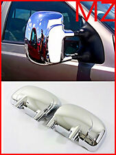For 99-07 Ford Pickup Truck Super Duty F250 F350 Chrome FULL Mirrors Covers Pair