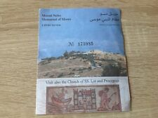 Jordanien Mount Nebo Memorial of Moses, Ticket, Church, Totes Meer, Papst