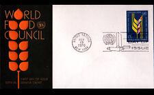 """ENVELOPPE 1° JOUR """"NATIONS UNIES"""" Oblitération Flamme postale GENEVE 1976"""