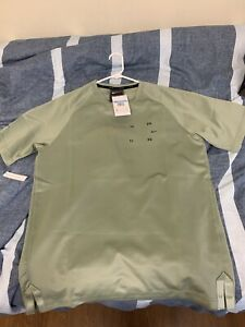 Nike NSW Sportswear Tech Pack Shirt Jade Stone Black Men Size M New BV4441-371