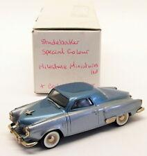 Milstone Miniatures 1/43 Scale 22318 - 1951 Studebaker Commander - Blue/Grey