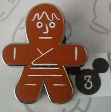Luke Skywalker Gingerbread Cookie Star Wars Mystery Disney Pin Buy 2 Save $