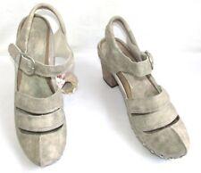 MOSQUITOS Chaussures originales tout cuir crème nuancé gris 41 EXCELLENT ETAT