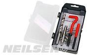 15 Piece Thread Repair Kit M10 X 1.25 X 13.5 mm  - Helicoil coil Twist Drill Tap