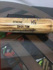 Philadelphia Phillies Darren Daulton Signed Autographed Game Used Bat