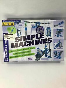 Thames & Kosmos STEM Experiment Kit Simple Machines Model# 665069 Ages 8+ NEW