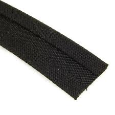 "Sunbrella Binding 3/4"" Straight Cut in Black - Sold by the Yard"