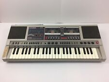 Vintage Casio CK-500 Boombox Ghettoblaster Keyboard AM/FM Radio 1980s Musical