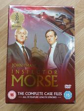 INSPECTOR MORSE - THE COMPLETE CASE FILES - ALL 33 EPISODES - 18 DISC DVD BOXSET