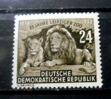 Germany - DDR Sc  179 75th Anniversary Leipzig Zoo 1953 - MH