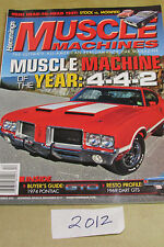 Muscle Machines lot of 1 pre-owned magazine  December 2012