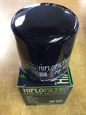 New HiFloFiltro HF303 Black Oil Filter for Honda Kawasaki  YAMAHA ATV SXS RX1