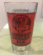 Arrogant Bastard Beer Pint Glass Ale