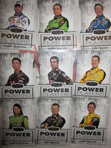 KM 2010 STEALTH POWER PLAYERS COMPLETE 9 CARD SET PRESS PASS DANICA PATRICK