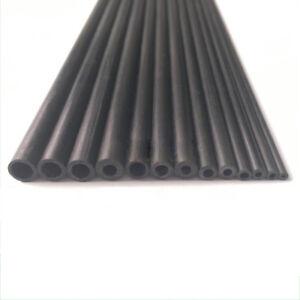 """Dia 2 - 8mm Wand 0.5 mm Kohlefaser Rohr Runde Rohr Körperfläche 10""""/20"""""""