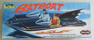 LOT OF 2 2003-2010 BATMAN BATBOAT CLASSIC TV POLAR LIGHTS MODEL KITS #6906