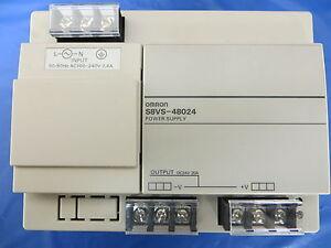Omron S8VS-48024 Power Supply 480W Input AC100-240V 7.4A Output DC24V 20A