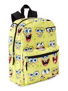 Spongebob Squarepants Print Backpack for Kids
