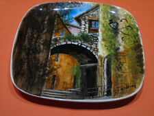 2 plaques assiettes décoratives G. Tardieu, Biot