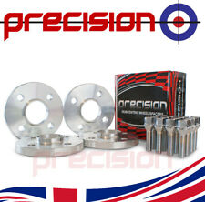 2 Pairs of Hubcentric 15mm Spacers with Bolts Nuts for Fiat Coupe Alloy Wheels