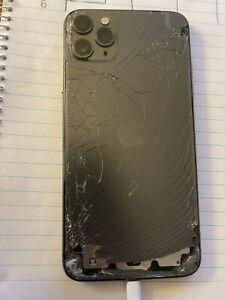 Apple iPhone 11 Pro Max - 256GB - Silver (Unlocked) A2218 (CDMA + GSM)