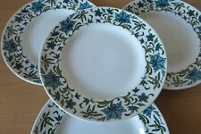 More details for 4 x midwinter spanish garden salad plates jessie tate good cond