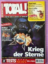 TOTAL! 100% Nintendo Magazin 03/1996 – Sammelauflösung – Sehr guter Zustand
