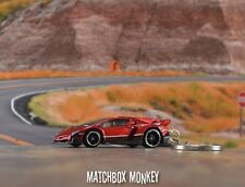 Lamborghini Veneno 1/64 Custom Keychain FOB Porte Cles Llavero Need for Speed