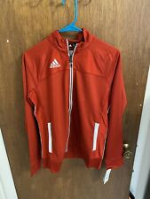 Adidas Women's Utility Jacket Power Red/ White Size Small 50% Off Msrp