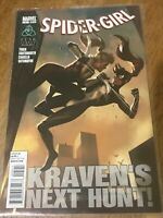 SPIDER-GIRL COMIC BOOK # 5 KRAVEN'S NEXT HUNT! Marvel 2011