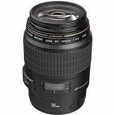 Canon 100mm F2.8 EF Macro USM Lens 4657A006, In London