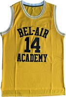 Mens #14 Will Smith Jersey The Fresh Prince Bel Air Basketball Jersey S-3XL