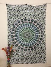 Modern Mandala Cotton Twin Size Tapestry 100% Beautiful Wall Hanging Beautiful
