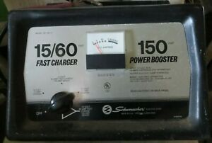 Schumacher Fast Charger 150 amp Power Booster model SE-150-15 Battery Charger