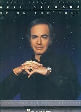 """NEIL DIAMOND """"UP ON THE ROOF"""" PIANO/V/GUITAR MUSIC BOOK RARE OUT OF PRINT SALE!!"""