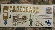 John Wayne Stagecoach First Day Hollywood Calif. MAR. 23, 1990 USA .25 Cent