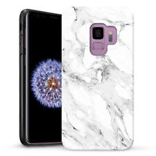 Marble Shape Stone Dual Layer heavy duty Case Cover For Samsung Galaxy S9 Plus