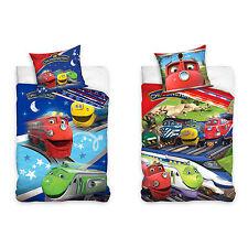 Linge de lit literie pour enfants Chuggington - LES LOCOMOTIVES sont Los
