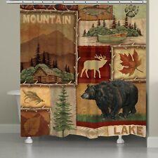 Laurel Casa Lodge Collage I Cortina de ducha