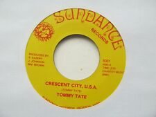"TOMMY TATE Crescent City U.S.A. USA 7"" EX Cond"