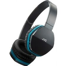 JVC Hasbt5ae Blue Wireless Lightweight Bluetooth Headphones