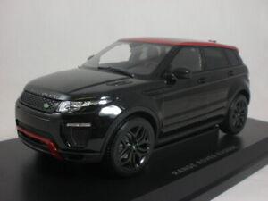 Kyosho Range Rover Evoque HSE dynamic lux Santorini black 2014 1/18 C09549BK