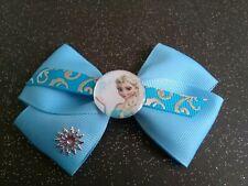 Elsa frozen princess Inspired Hair bows/clip bow