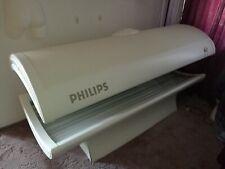 Sonnenbank gebr., Philips HB 558, wenig genutzt, guter Zust., Gesichtsbräuner