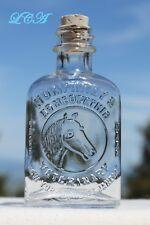 Little antique HUMPHREYS' VETERINARY HORSE MEDICINE bottle pic/ horse
