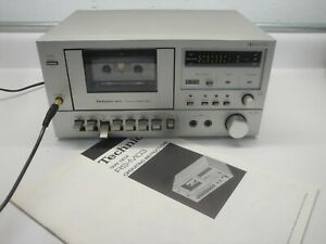 VINTAGE TECHNICS Cassette TAPE DECK RS-M03 estate find ULTRA RARE working MICRO